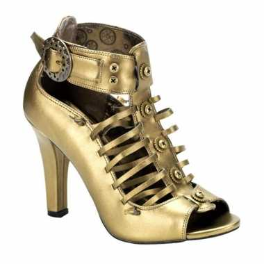 Sexy  Bronzen sandaal pumps Victoria schoenen
