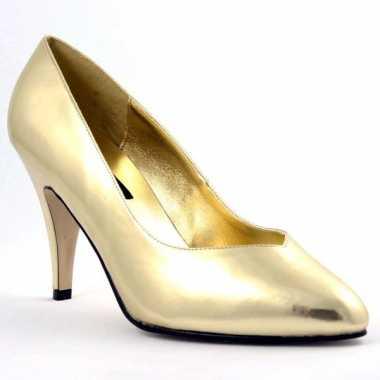 Sexy  Gouden pumps Sienna schoenen
