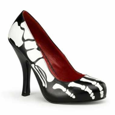 Sexy  Halloween Zwarte X-Ray pumps schoenen