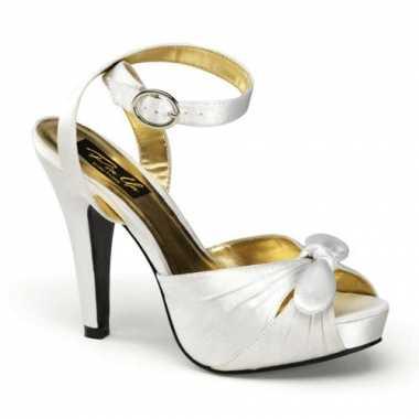Sexy  Ivoor witte sandaal pumps Marilyn schoenen