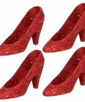 Sexy x kersthangers rode hakken pumps kerstboomversiering schoenen 10243573